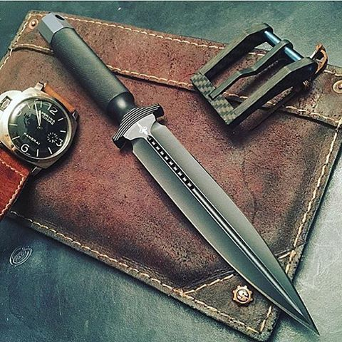 knives, guns, and tactical gear
