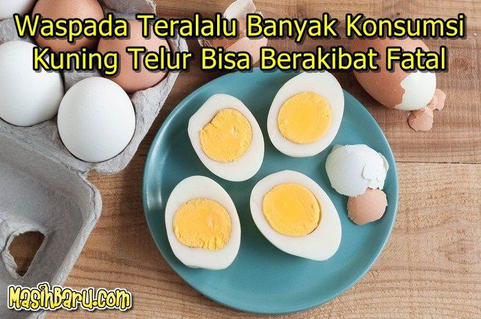 Waspada Teralalu Banyak Konsumsi Kuning Telur Food Breakfast Eggs