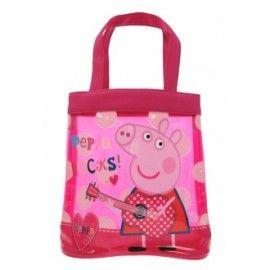 Peppa Pig Rocks Tote Bag - Library Bag
