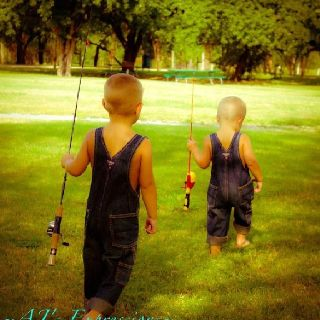 boys going fishing... country living