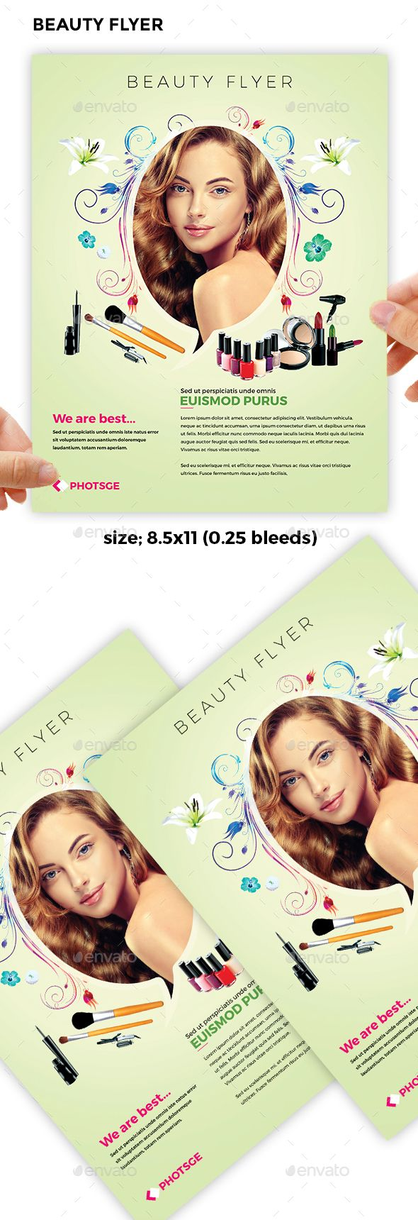 best images about creative design templates beauty flyer