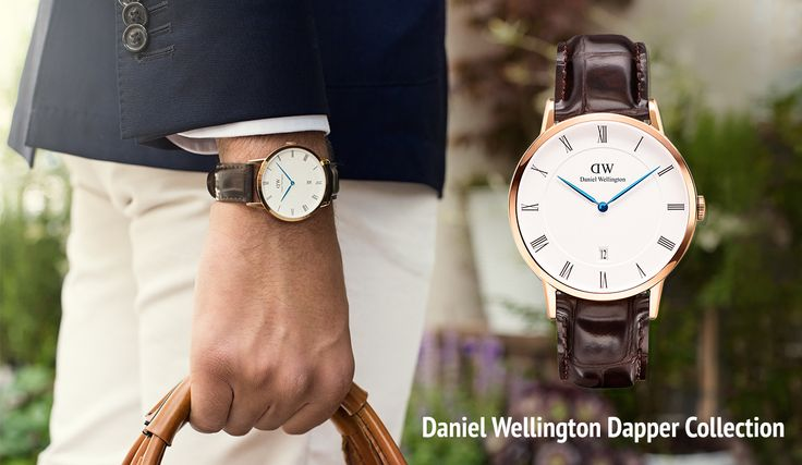 Ny Daniel Wellington kollektion på hjemmesiden: Dapper Collection.
