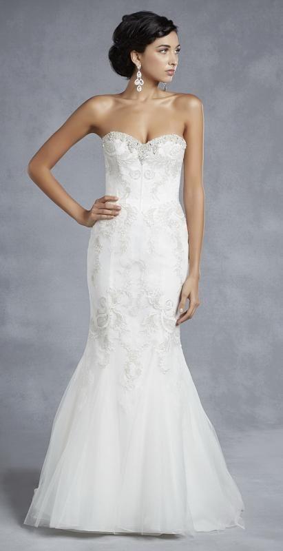 Igen Szalon wedding dress- BT15-23 #igenszalon #beautiful #weddingdress #bridalgown #eskuvoiruha #menyasszonyiruha #eskuvo #menyasszony #Budapest