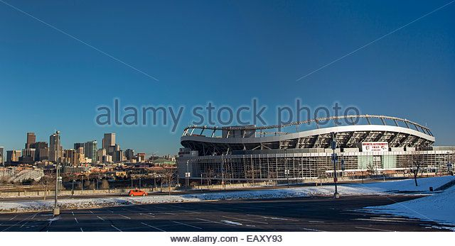 ... Denver Stock Photos & Sports Authority Field Denver Stock Images