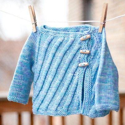 Dream in Color Classy Kenjin Childrens Cardigan PDF Knitting Pattern