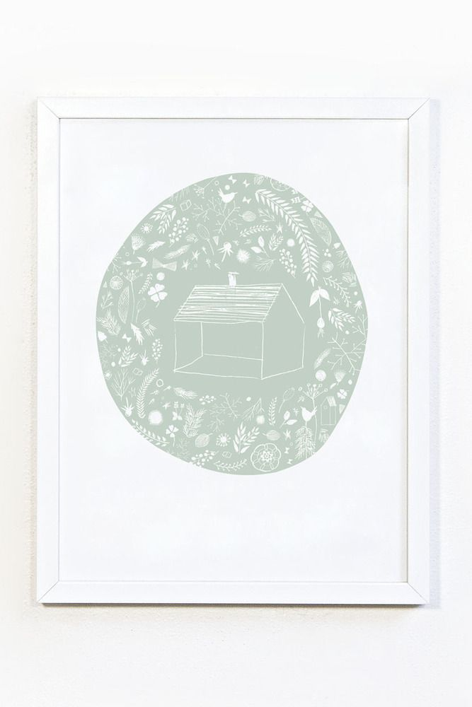 There's no place like - print A4, €13.00 by Studio meez Love this print for the dining room!