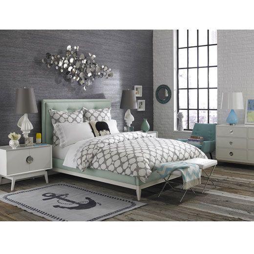 Bedroom Green Bedroom Ceiling Bedroom Kitchenette Bedroom Colors That Go With Brown Furniture: 527 Best Images About Trisha Aqua Bedroom On Pinterest