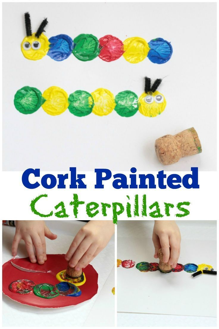 Fun and Easy Caterpillar Craft