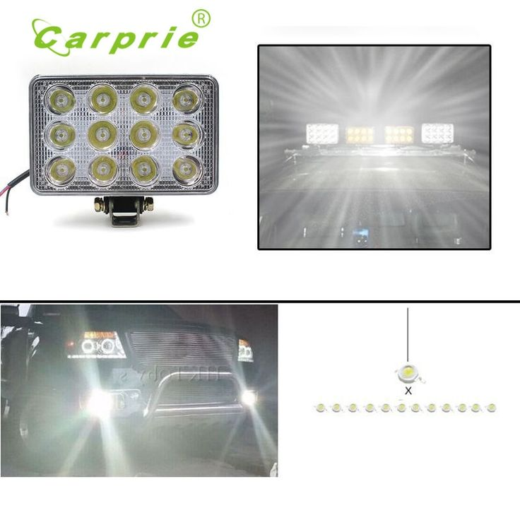21.48$  Buy now - http://alivt1.shopchina.info/go.php?t=32782136013 - Auto car styling	led car-covers 12V 24V 36W 2400LM LED Work Light Lamp For SUV ATV Car Truck Tractor Boat Motorcycle FEB16 21.48$ #bestbuy