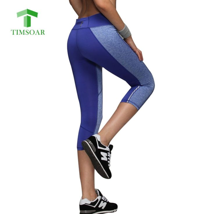 Timsoar Zipper Yoga Pants Back Women Slim Breathable Quick Dry Trousers Mallas Mujer Deportivas for Fitness Running 7 Leggings #Affiliate