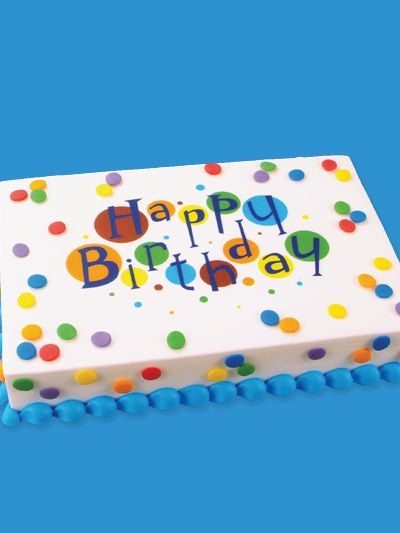 birthday sheet cakes - Google Search