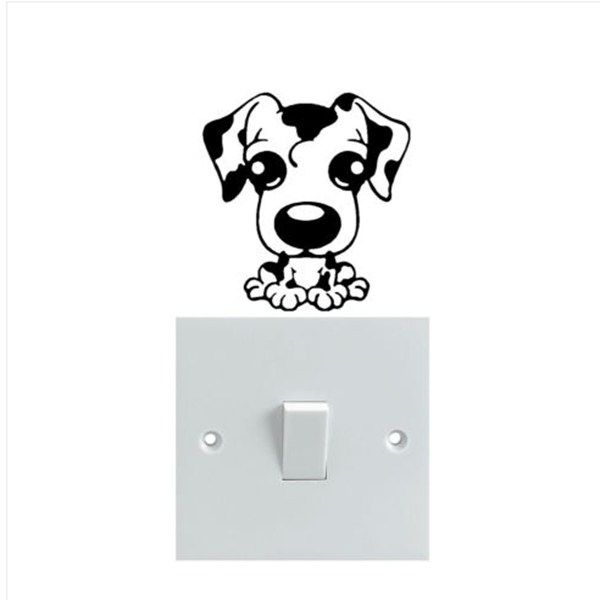 Cute Dog Wall Sticker   Free Worldwide Shipping!  Only $3.48    Order from: www.happycozyhome.com