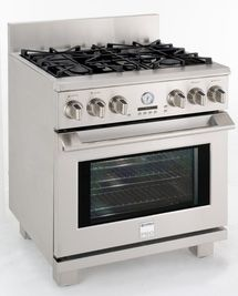 Kenmore Pro Appliances - Best Features: Kenmore Pro Free Standing Dual Fuel Range Model 79523