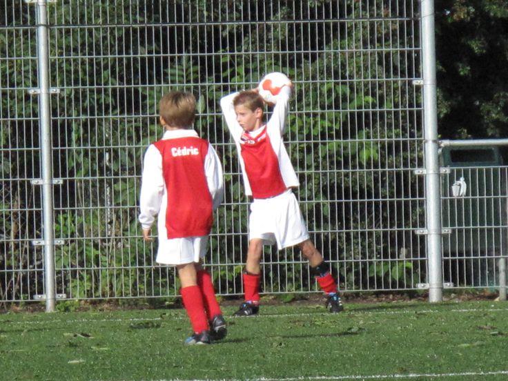 Lard: mijn hobby is voetbal.