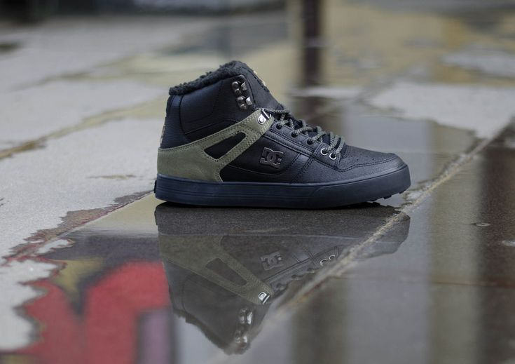 DC Shoes, DC Spartan High WC WNT Black/Olive