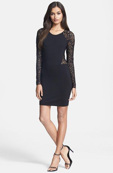 Free shipping and returns on Parker 'Naomi' Body-Con Dress at Nordstrom.com. Lacy long sleeves hint at the alluringly sheer back of a slinky body-con LBD that's sure to turn a few heads on your next night out.