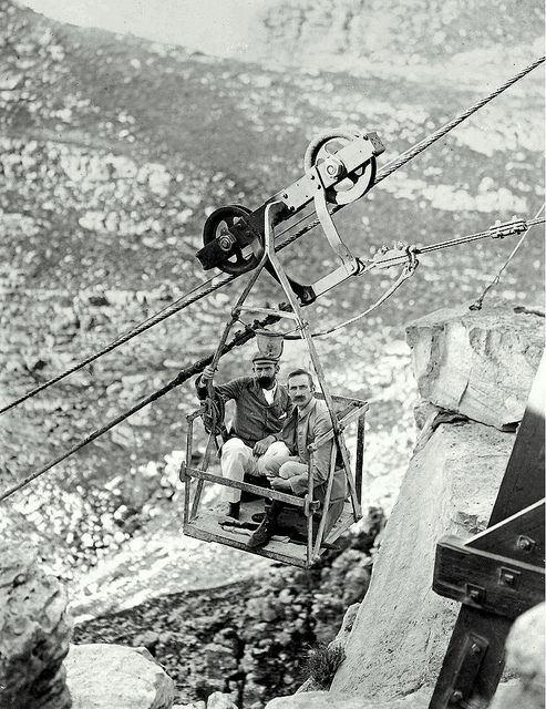 Table Mountain Cableway. by Etiennedup, via Flickr