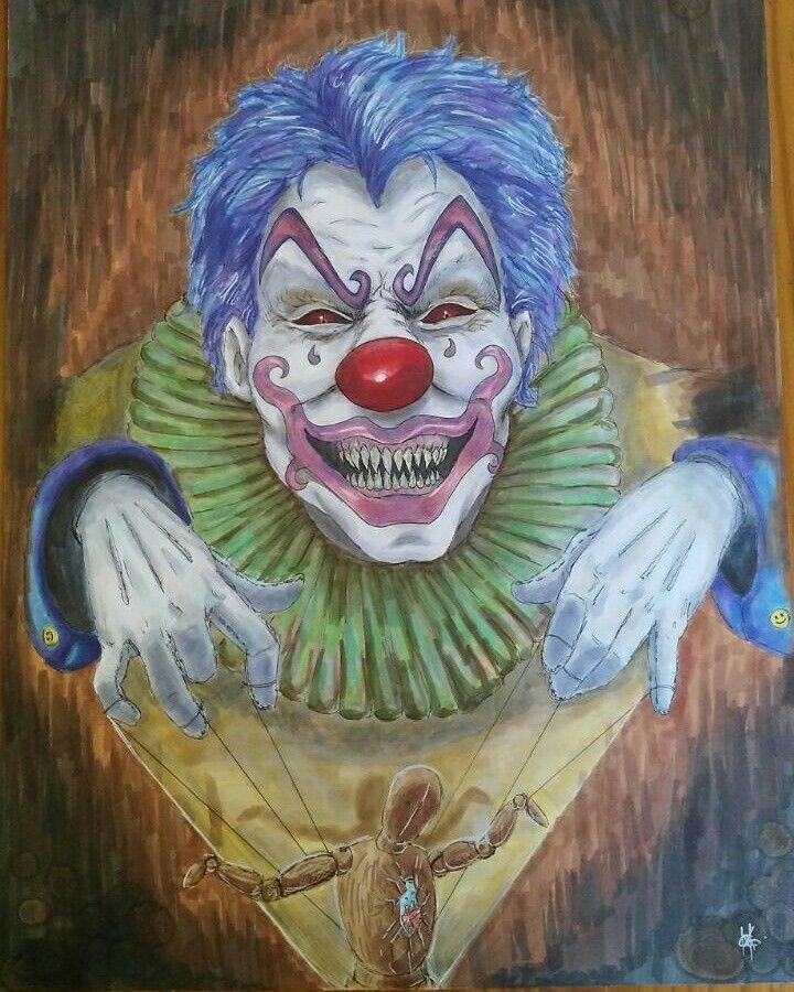 Clown by animeniacKING  Freakkkyy.