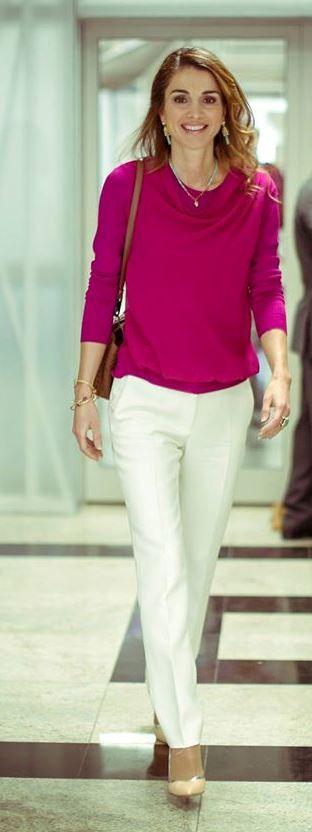 Queen Rania of Jordan - 9.12.2014