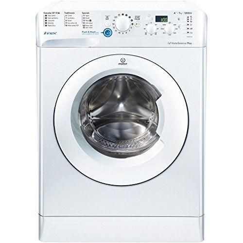 From 174.98:Indesit Bwsd71252wuk Innex 7kg 1200rpm Freestanding Washing Machine White