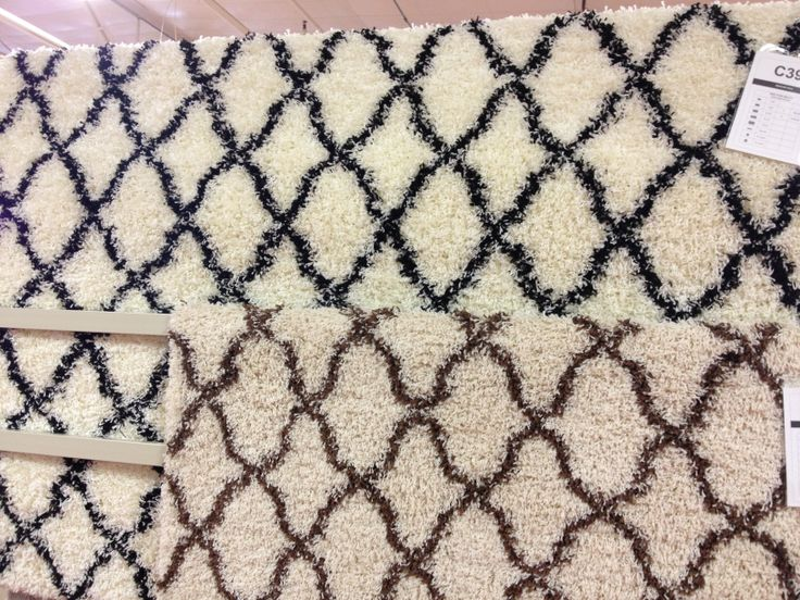 Black And White And Brown/white Geometric Rugs $99 5x8, $199 Garden Ridge  8x10