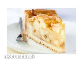 Linecký koláč s jablkami