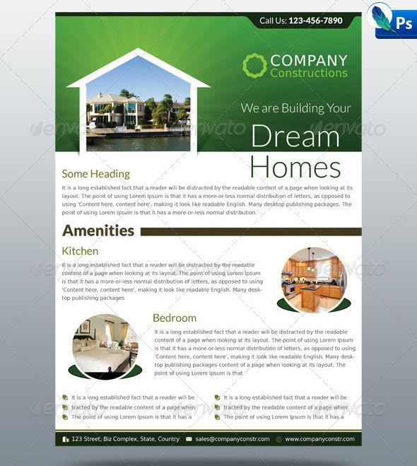 24 best Real Estate Flyer Inspiration images on Pinterest