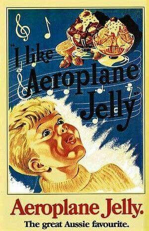 Aeroplane Jelly.