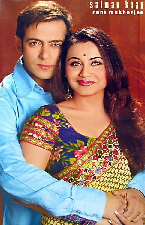 Rani Mukerji and Salman Khan