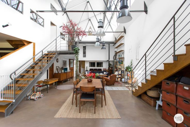 17 best images about loft on pinterest new york studios and atelier - Loft industriel deco ...