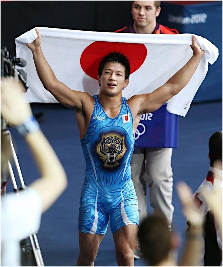 2012年ロンドン五輪60kg級銅メダリスト松本隆太郎。レスリング選手一覧