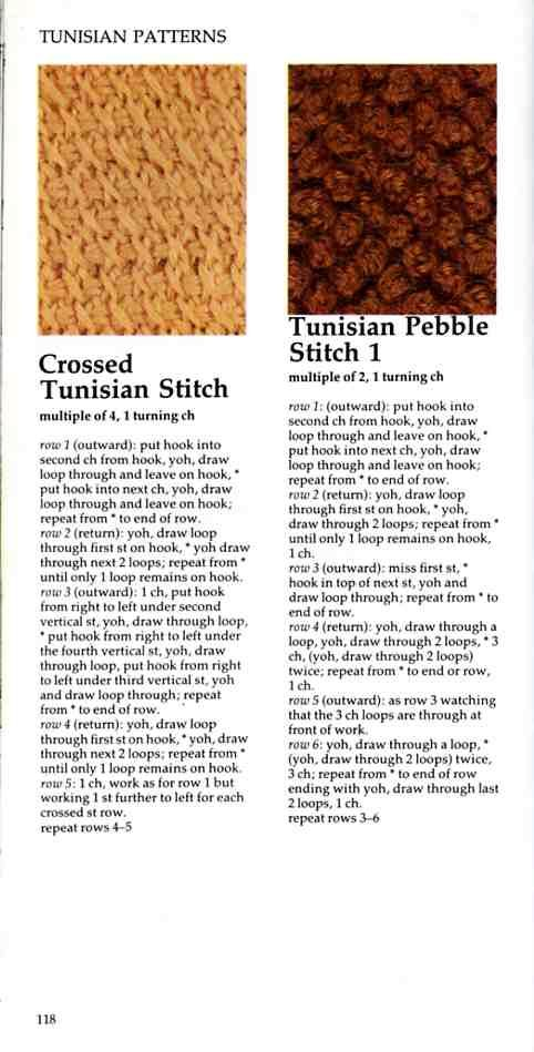 Vogue Dictionary of Crochet Stitches (incluye tunesino) - Natty Coello ...