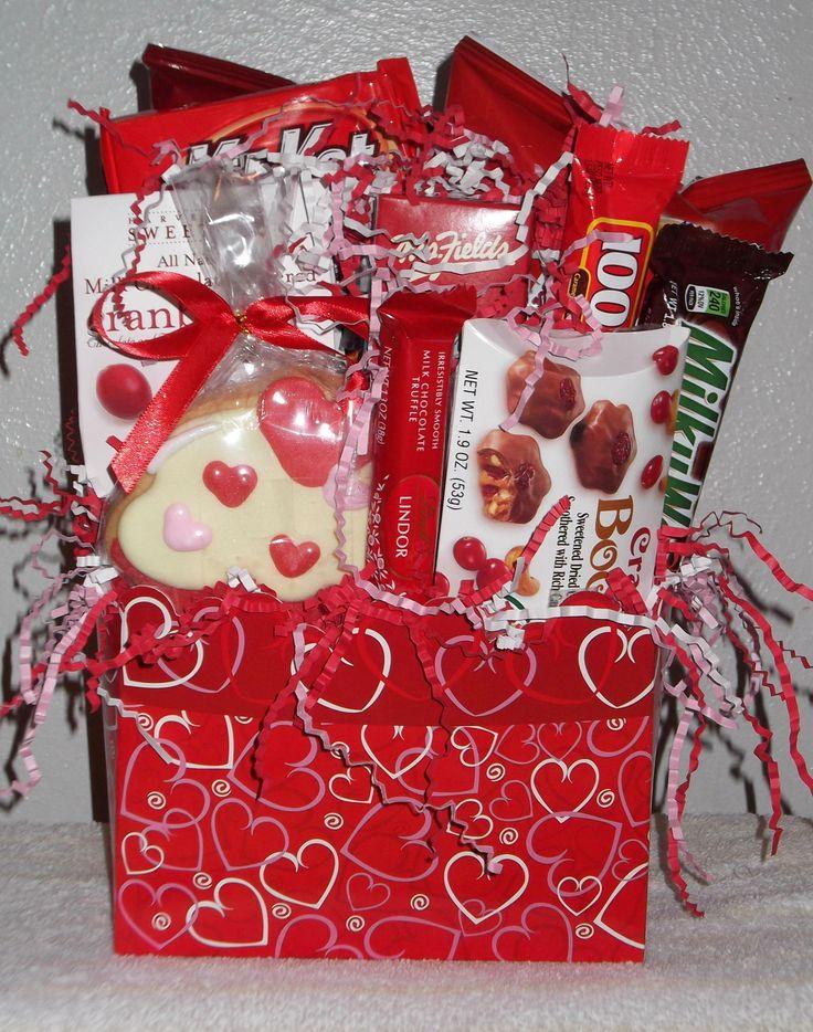 Dallas TX Snack Gift Basket Delivery Valentineu0027s Day  Balloonsandmoregifts.com $48