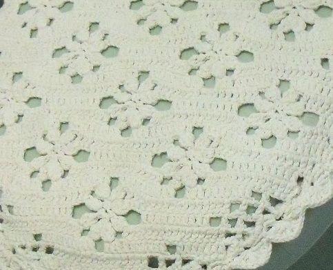 As Receitas de Crochê: Jogo de banheiro de crochê