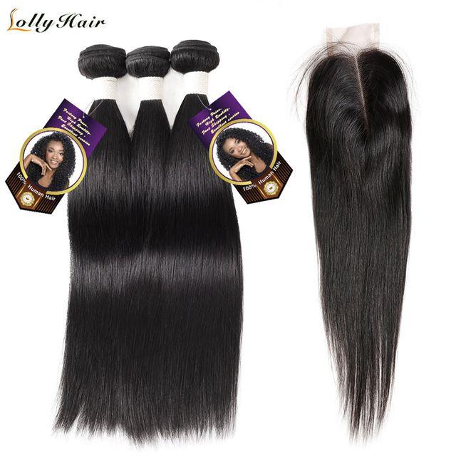 Brazilian Hair Weave Bundles 100 Human Hair Non Remy Straight Hair
