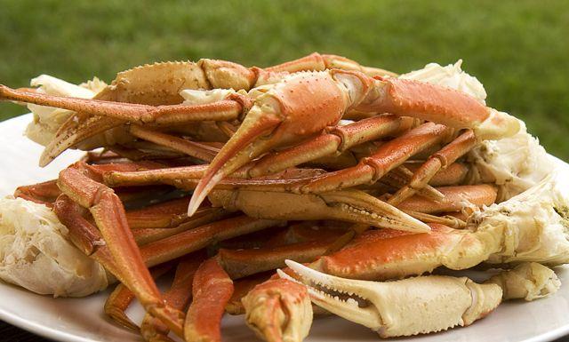 Snow crab legs -Nuwave Cooking Club