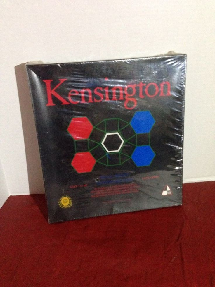 Kensington Board Game NEW SEALED In BOX not LP Samuel Ward Company 1979 Original #SamuelWardCo
