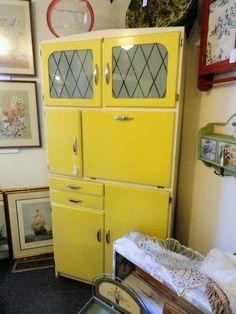 Restored 1950s Kitchen Cabinet Pinned From Etsyspot Com