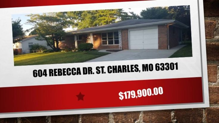 "St. Charles 3 Bedroom 2 Bathroom home 63301St. Charles 3 Bedroom 2 Bathroom home 63301  https://gp1pro.com/USA/MO/St__Charles/Saint_Charles/604_Rebecca_Dr_.html  St. Charles 3 Bedroom 2 Bathroom home 63301St. Charles 3 Bedroom 2 Bathroom home 63301 Call ""NORM"" 314-713-4256 -   COMPLETELY RENOVATED RANCH! Located on quiet street in Saint Charles, this home features 3 bedrooms, 2 full baths. A brand-new kitchen with new soft closing cabinets, and beautiful granite counter tops. Crown molding…"