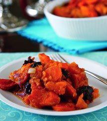 Eastern European Vegan / Vegetarian / Gluten-Free Recipes: Vegan Jewish Sweet Potato Tzimmes Recipe