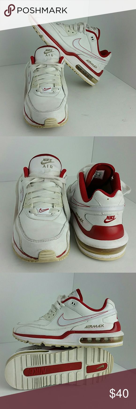 NIKE AIR MAX WRIGHT LTD WOMEN/YOUTH SHOES IN GOOD CONDITION   THIS IS A YOUTH SIZE 5.5Y WHICH IS WOMEN SIZE 7  SKE # BK NIKE Shoes Athletic Shoes