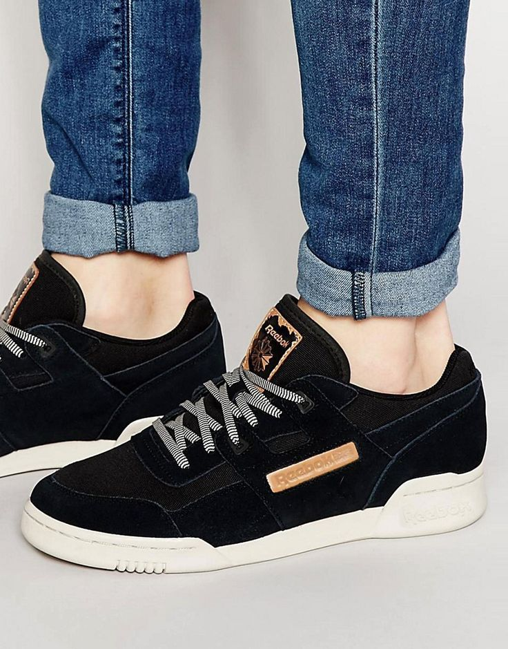 Reebok Workout Plus Utility Trainers In Black