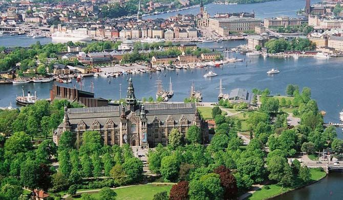 The Nordic Museum (Swedish: Nordiska museet) is a museum located on Djurgården, an island in central Stockholm, Sweden, dedicated to the cultural history and e... Get more information about the Nordic Museum on Hostelman.com #attraction #Sweden #museum #travel #destinations #tips #packing #ideas #budget #trips