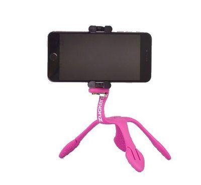 GekkoPod para Celular e Câmera Fotográfica Rosa - Zuckerim