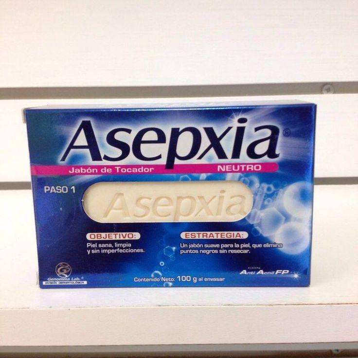 Jabon Asepxia Neutro, un jabón suave para la piel, que elimina puntos negros sin resecar Esta presentación es hipoalergénica, lo cual le da un cuidado especial a ciertos tipos de piel.