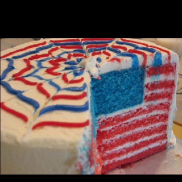 Love This Surprise American Flag In This Patriotic