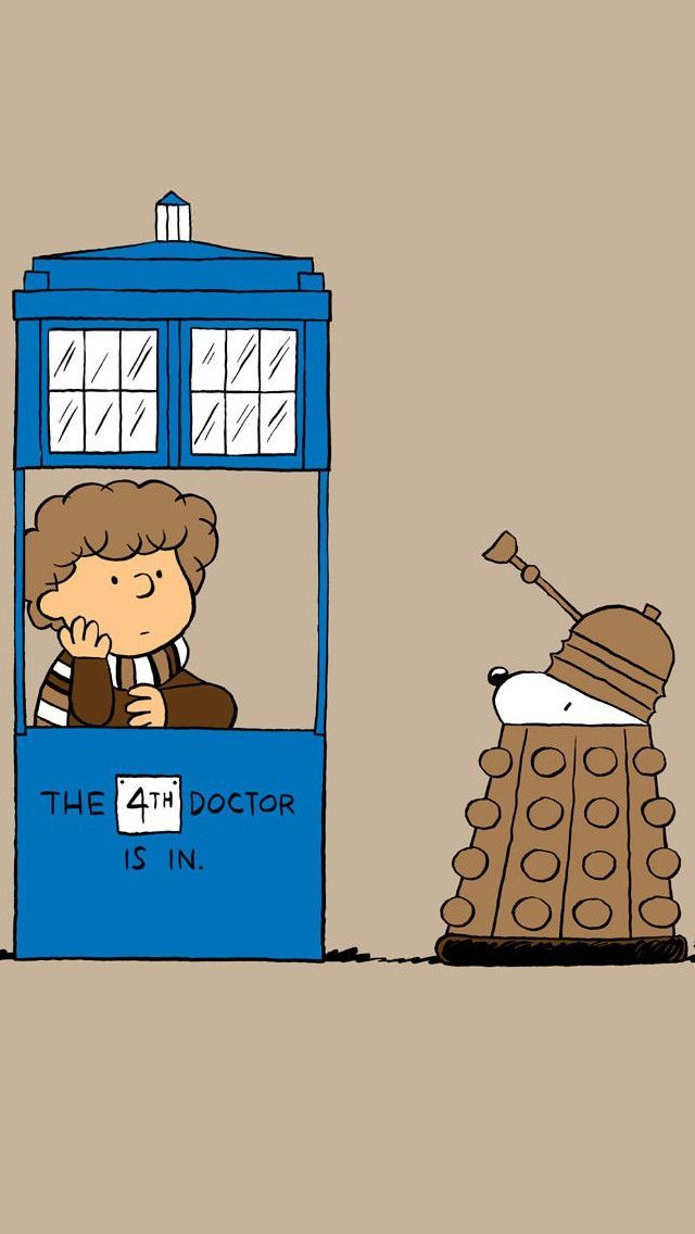 Doctor Who Cute Crossover Fan Art!  #Doctor #Who #Fanart