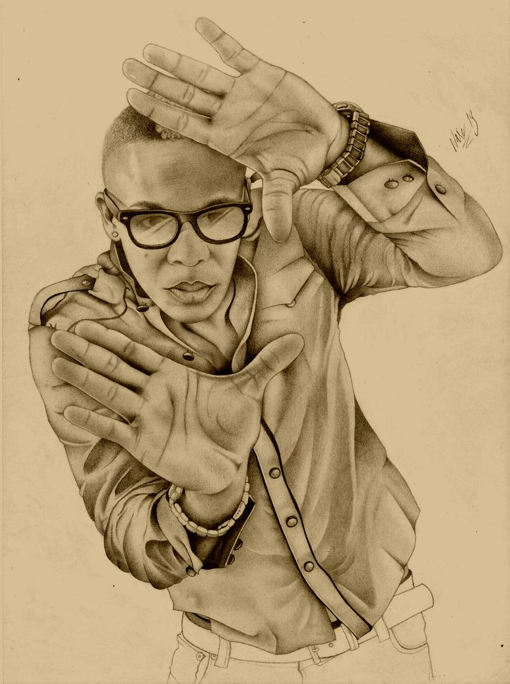 Pencil sketch on paper (Yr 2013)
