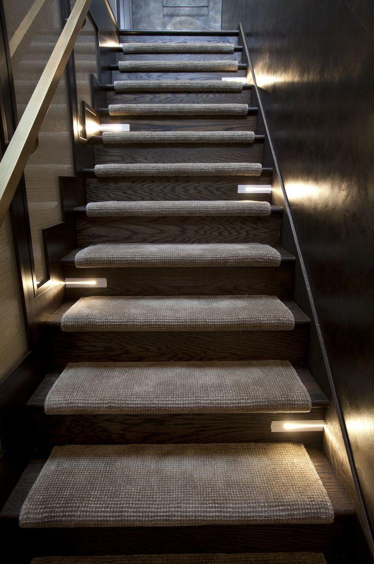 Lighting Basement Washroom Stairs: 128 Best Stairway Lighting Ideas Images On Pinterest