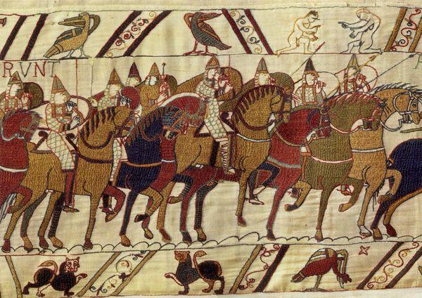 13. broderie de Bayeux, garde de Guillaume